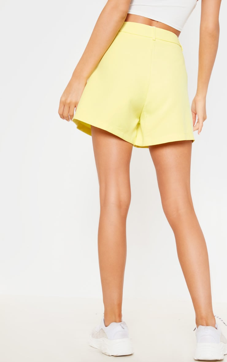 Bright Yellow Suit Short 4