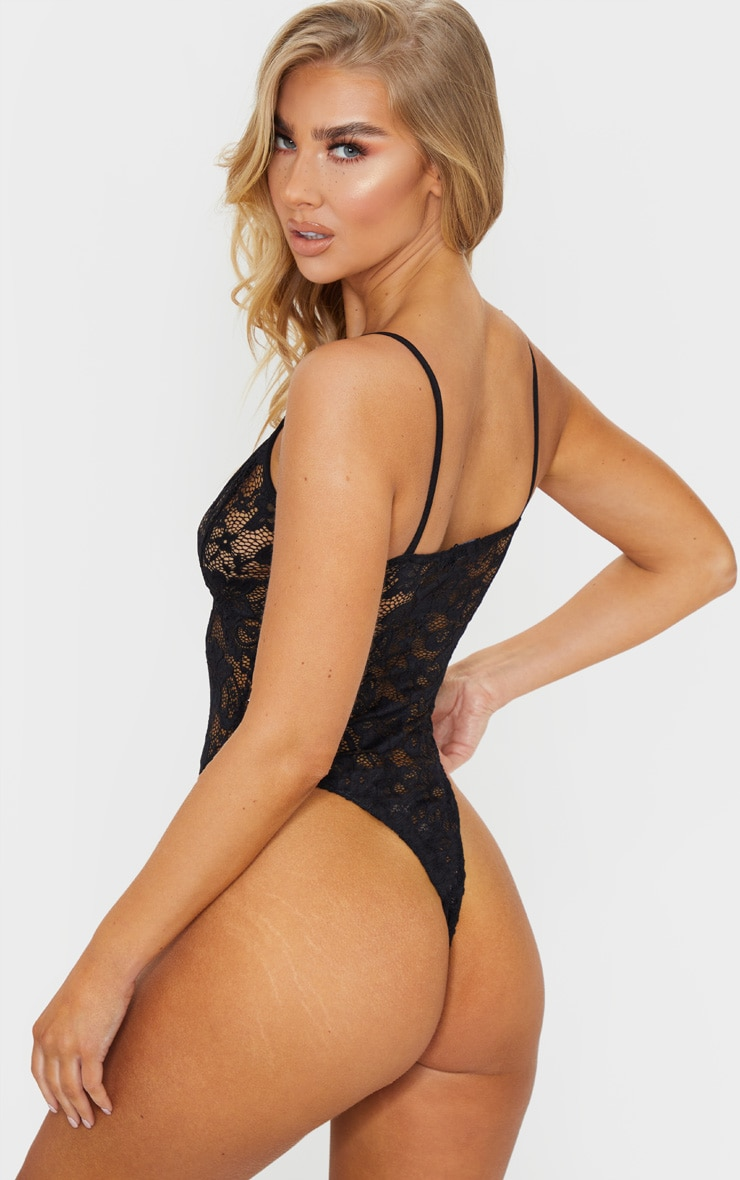Black Basic Lace Body 2