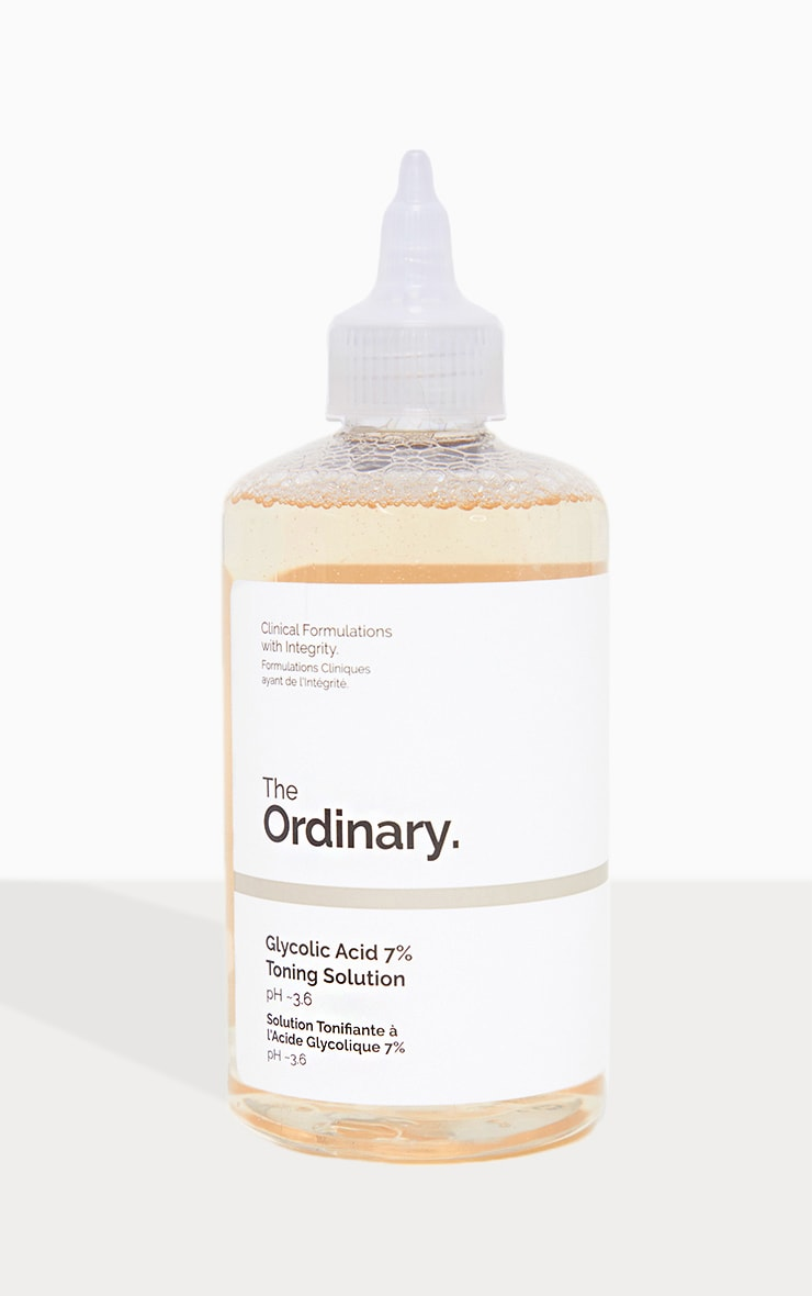 The Ordinary Glycolic Acid 7 Percents Toning Solution by Prettylittlething