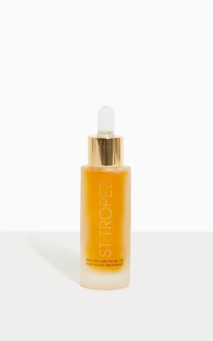 St Tropez Self Tan Luxe Facial Oil 30ml