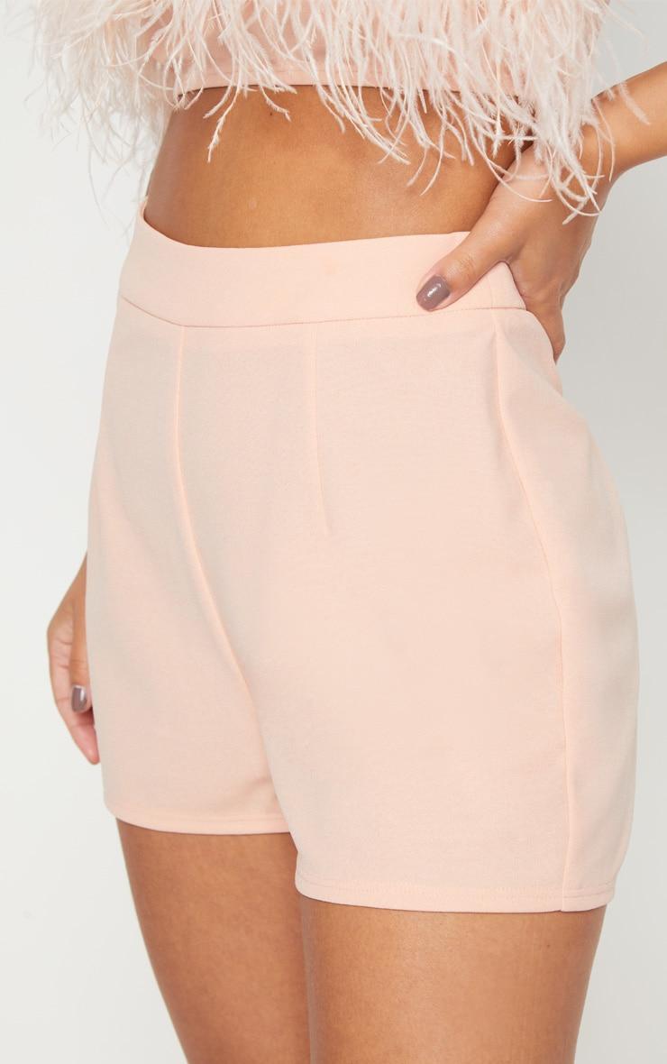 Petite Nude High Waist Shorts 6