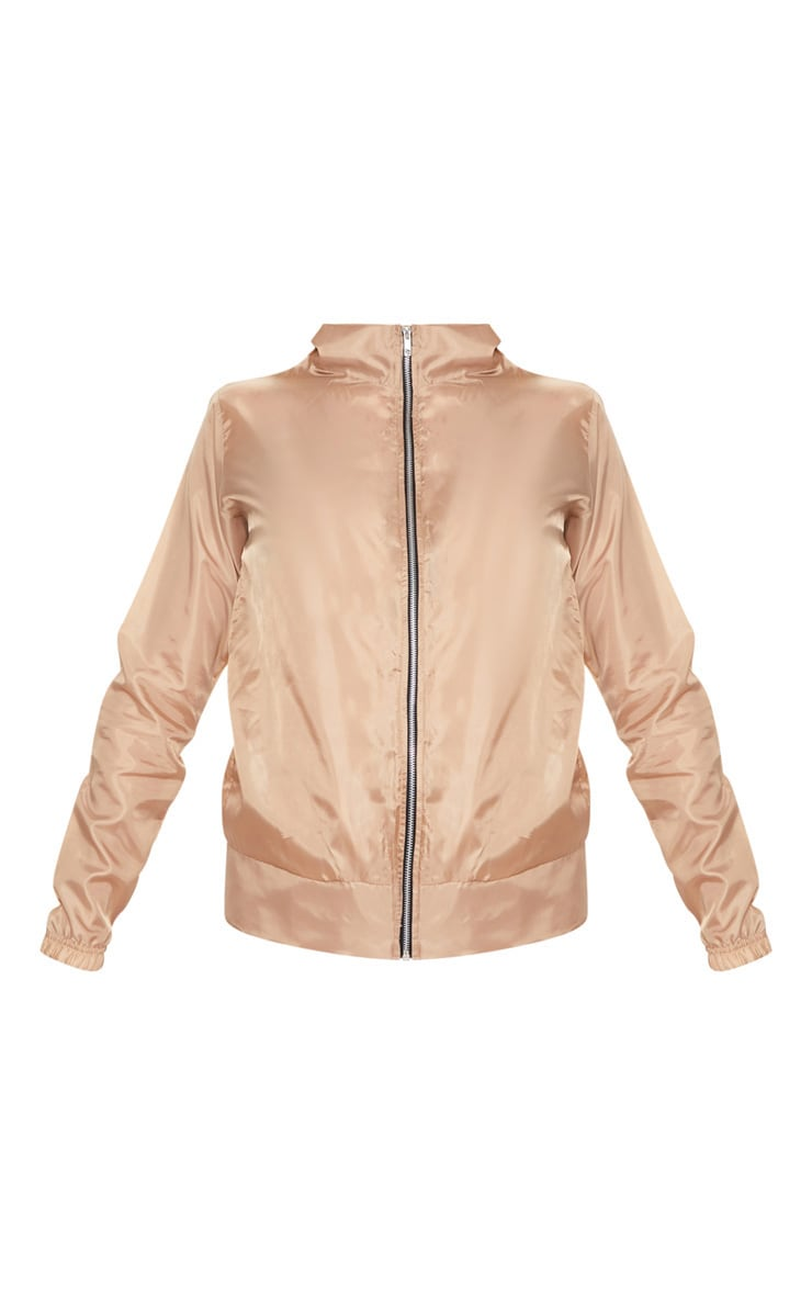 Dusty Pink Shell Zip Up Jacket 3