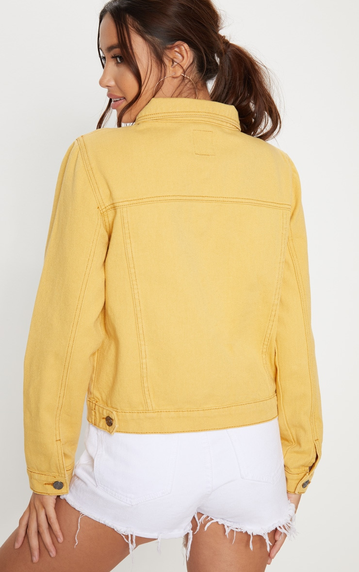 Denim Yellow Jacket 2
