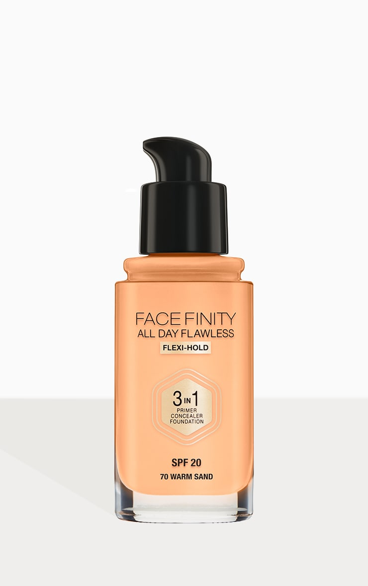 Max Factor Facefinity All Day Flawless Foundation Warm Sand 3