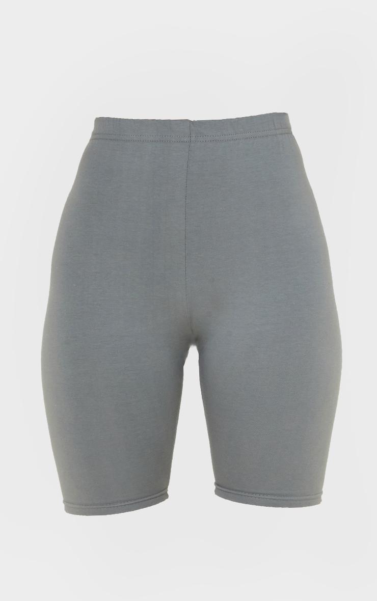 Charcoal Grey Bike Shorts 6