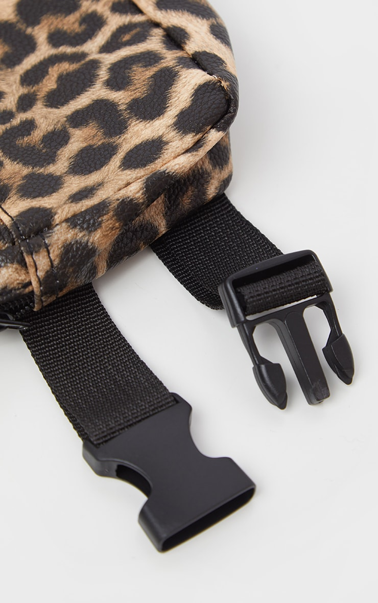 Leopard Square Fanny Pack 3