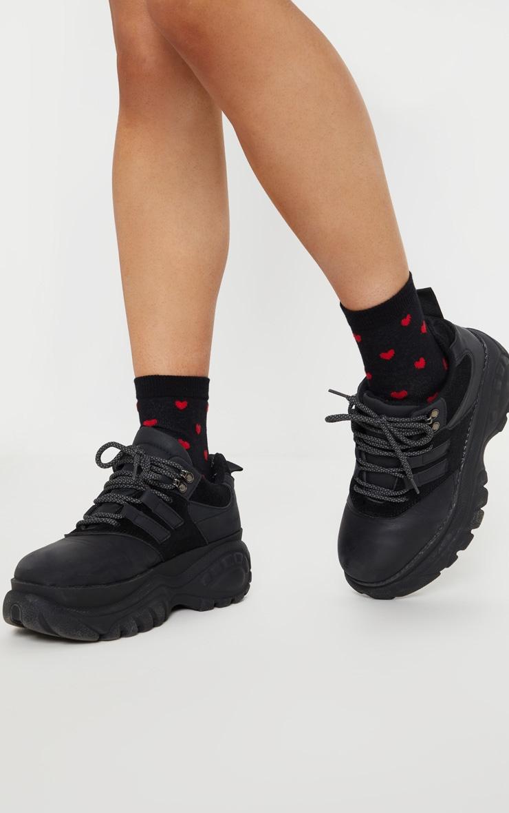 Black Sole Mate Socks 3