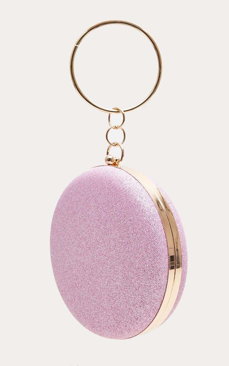 Pink Glitter Circle Grab Bag 2