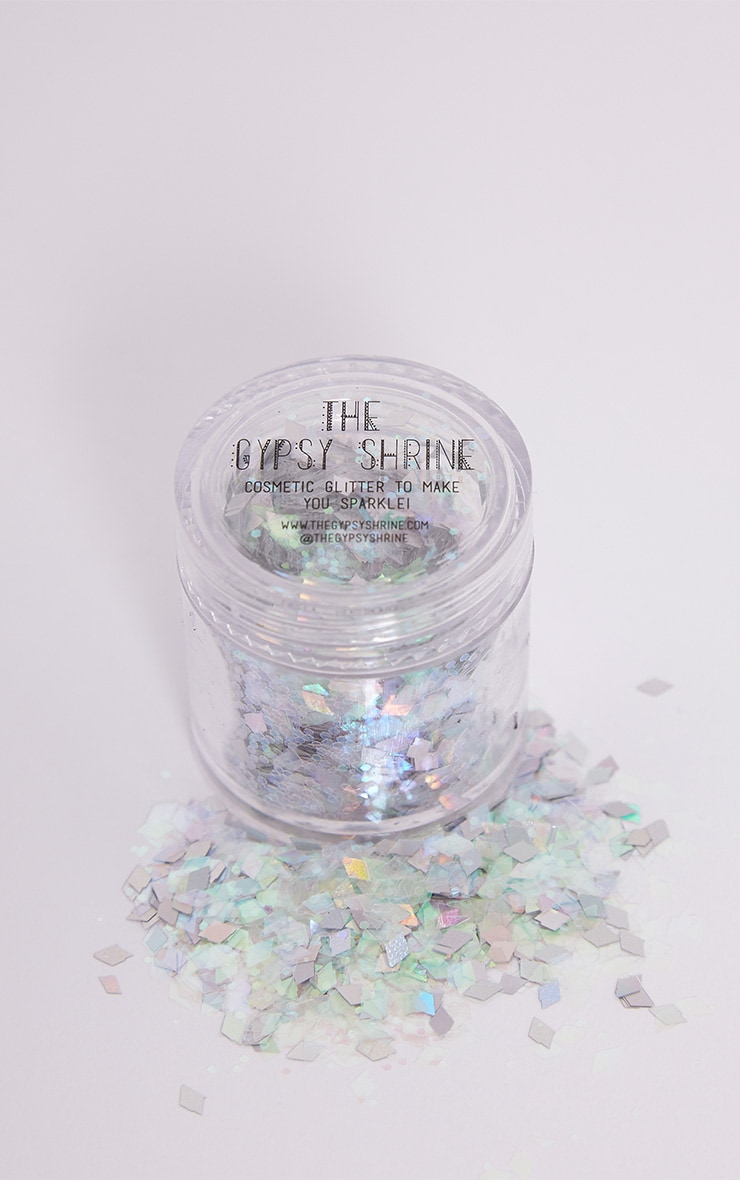The Gypsy Shrine Silver Snow Queen Glitter Pot 1