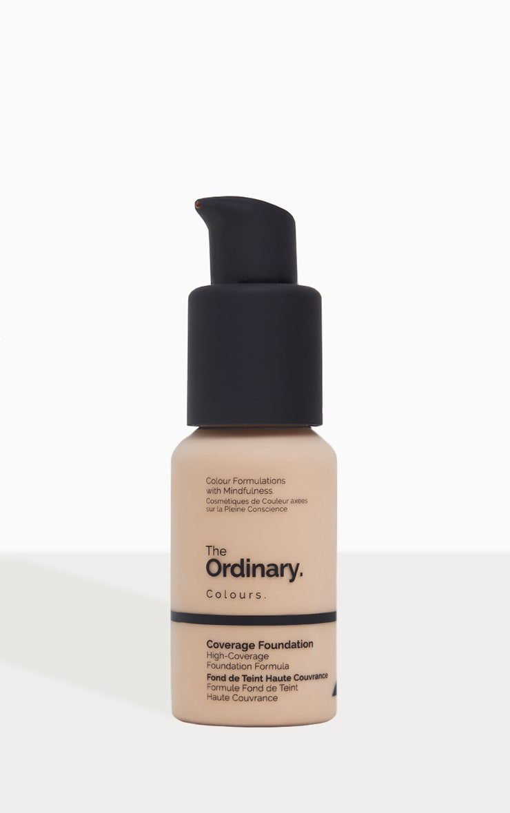 The Ordinary Coverage Foundation 1.2N Light 1