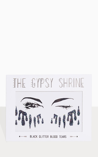 The Gypsy Shrine Black Glitter Sticker