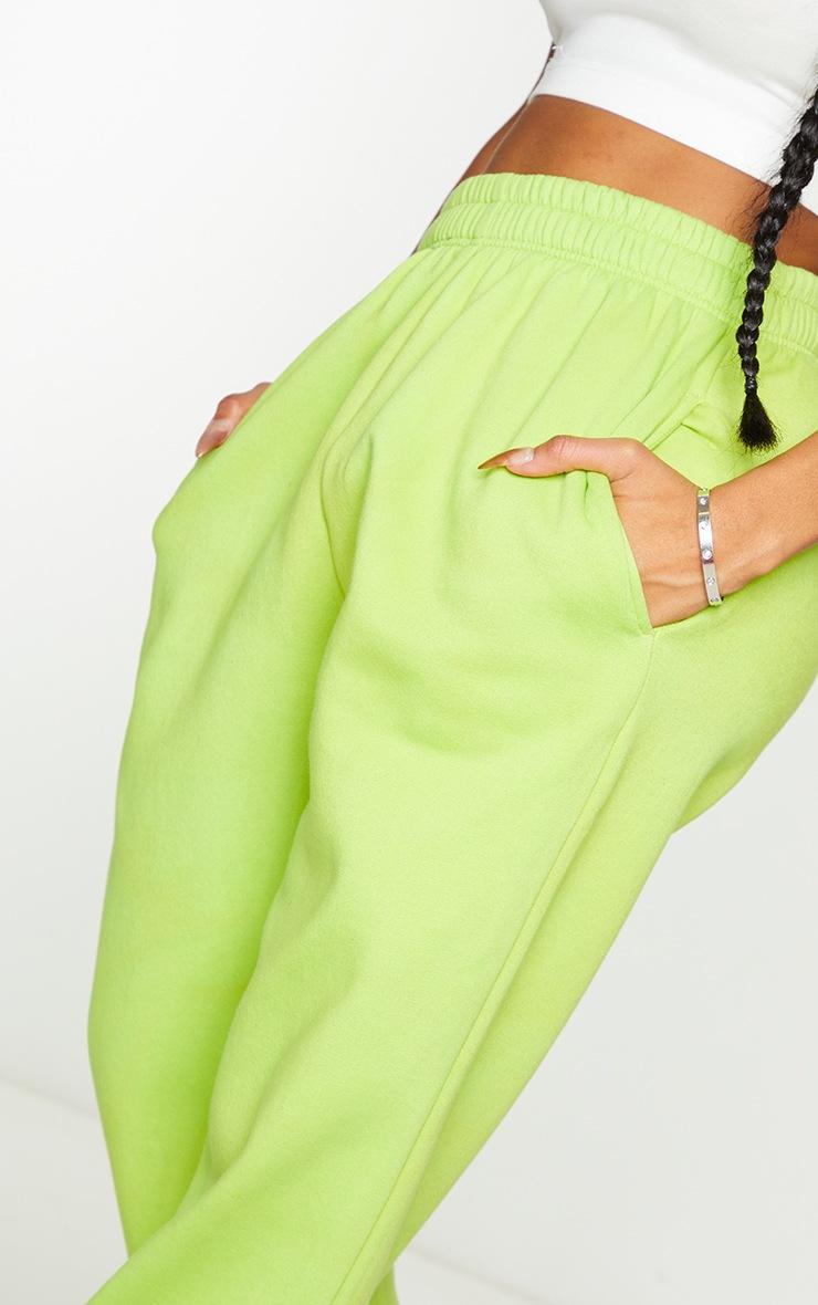 Shape Lime High Waist Pocket Detail Joggers 4