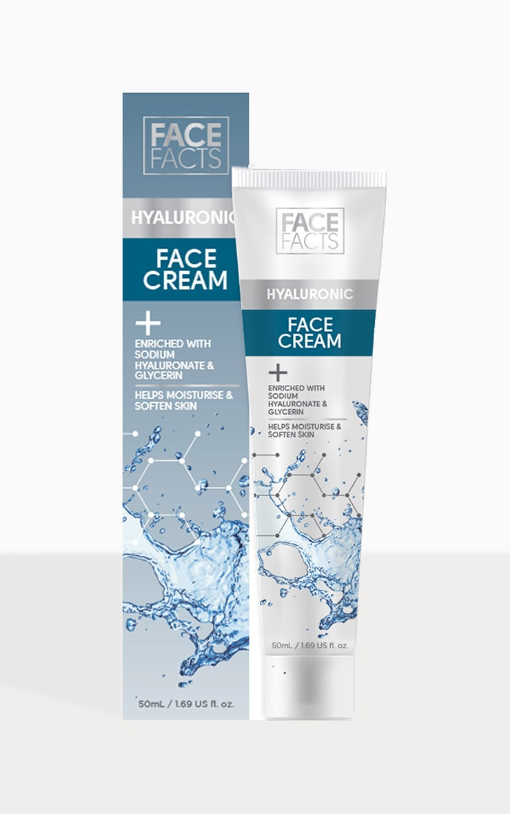Face Facts Hyaluronic Face Cream 2