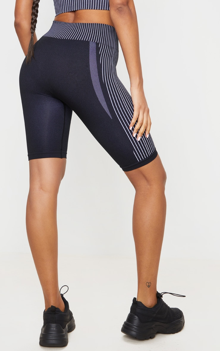 Monochrome Sport Seamless Cycle Shorts 3