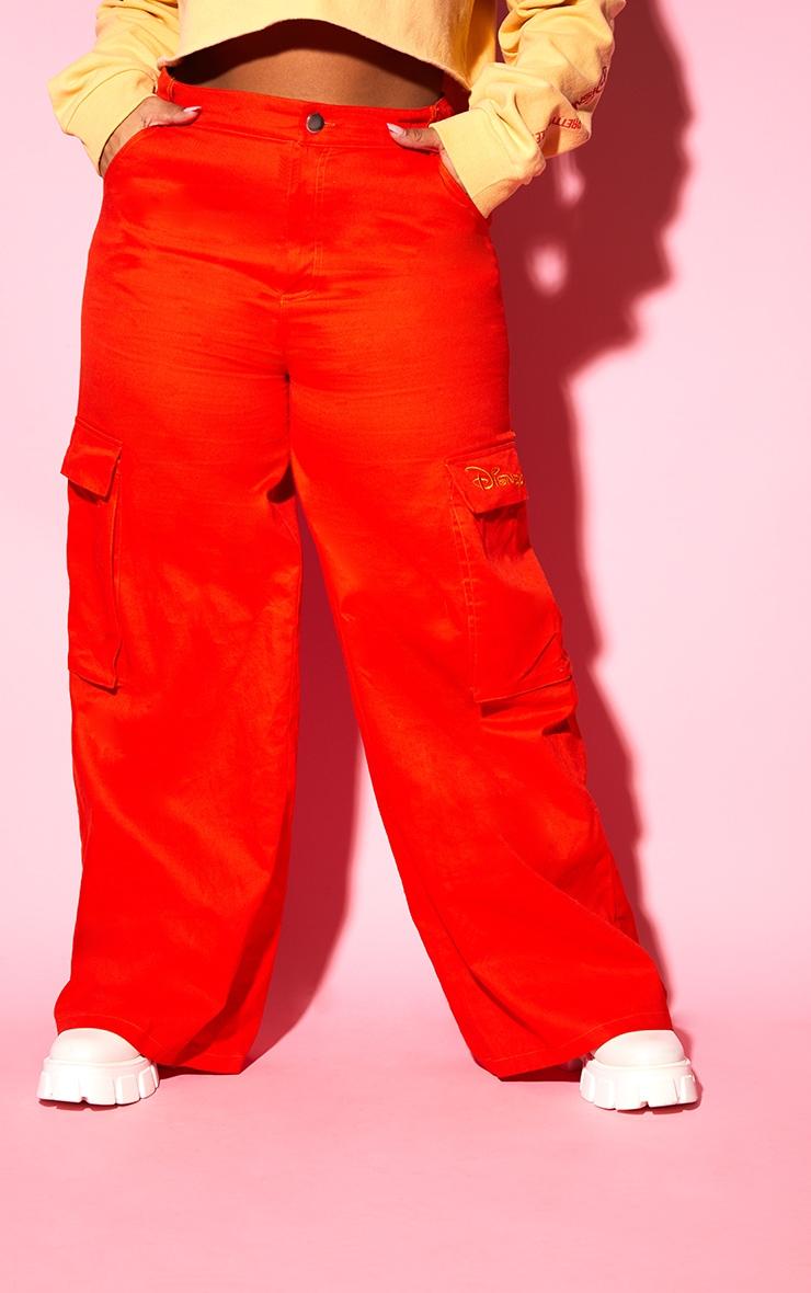 Plus Orange Disney Cargo Pants 4