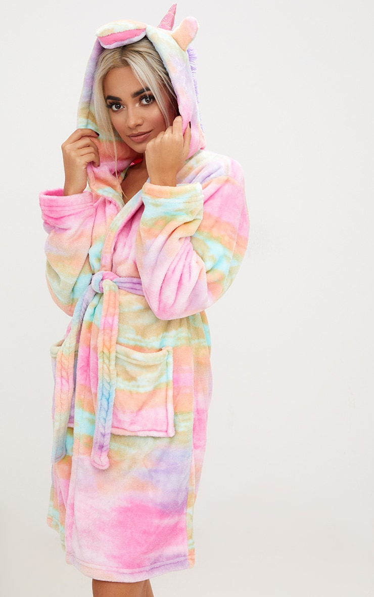 Rainbow Unicorn Dressing Gown 2