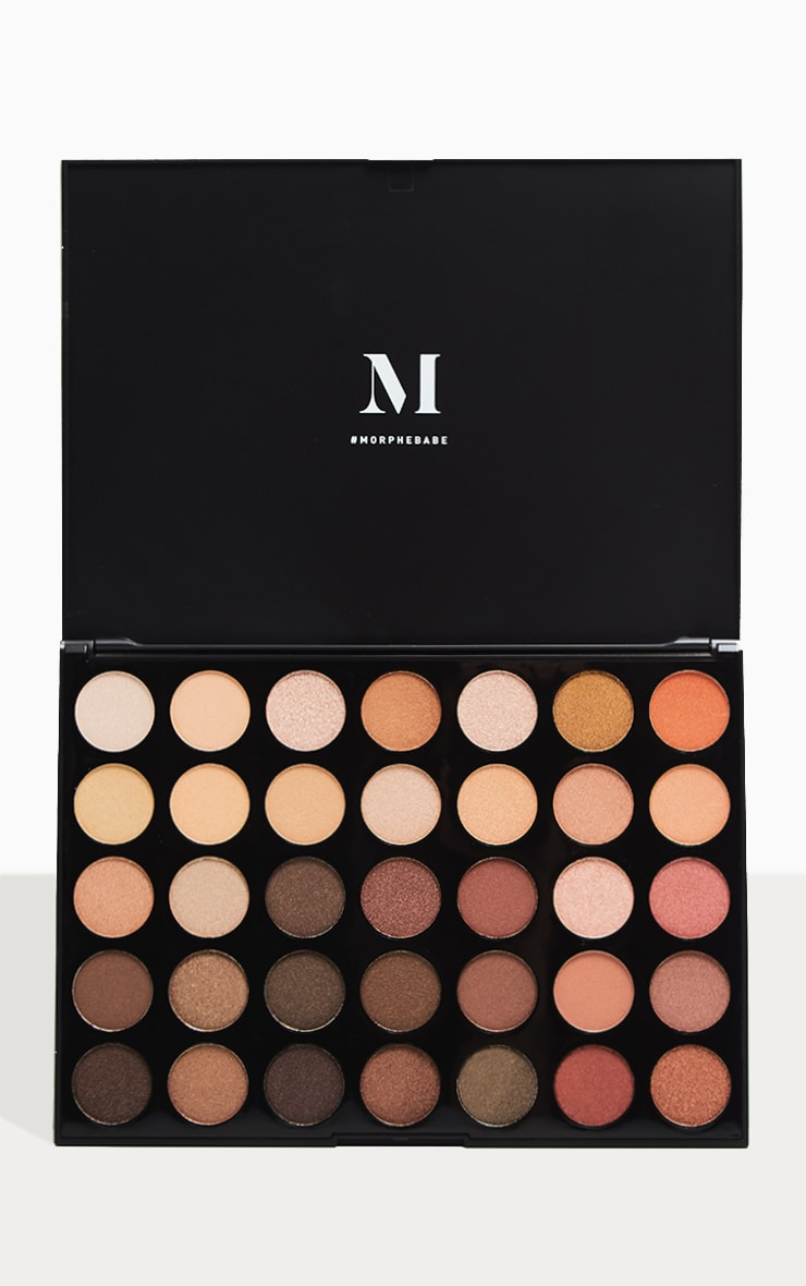 Morphe 35OS Nature Glow Shimmer Eyeshadow Palette 1