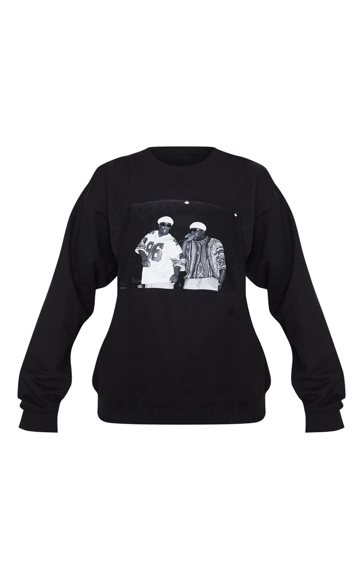 Black Biggie 96 Long Sleeve Sweatshirt 3
