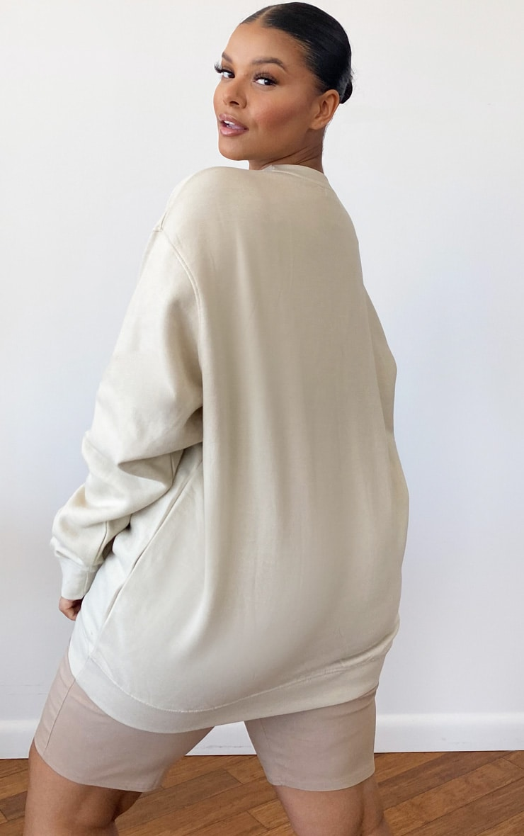 Plus Sand Ultimate Oversized Sweater 2