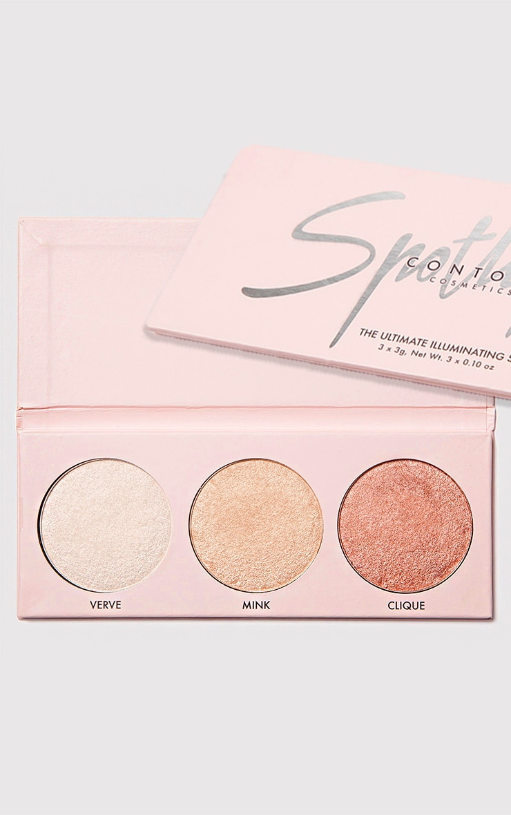 Contour Cosmetics Spotlight Highlighter Palette 1