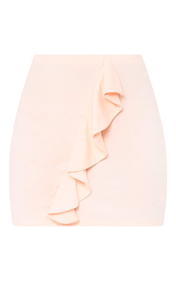 Blush Ruffle Mini Skirt 3