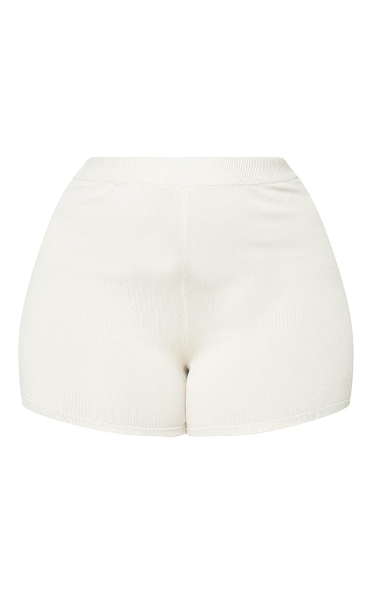 Plus Stone Knit Cycle Shorts 6