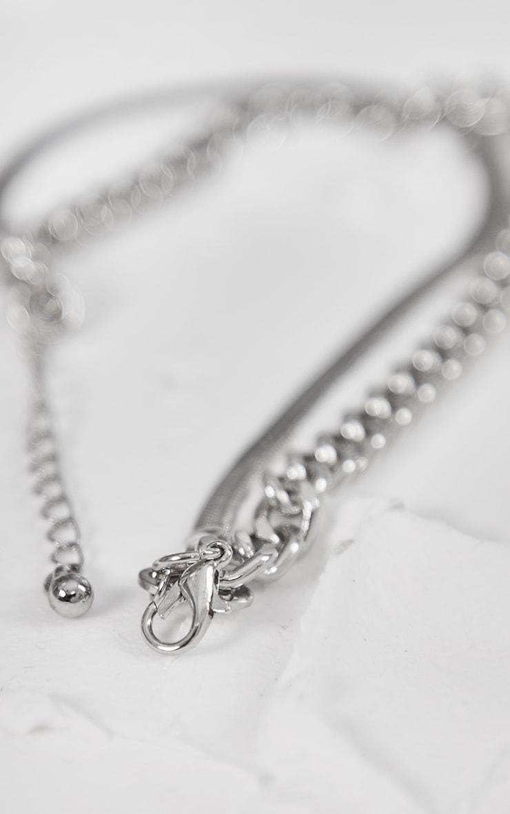 Silver Assorted 2 Pack Bracelets 2