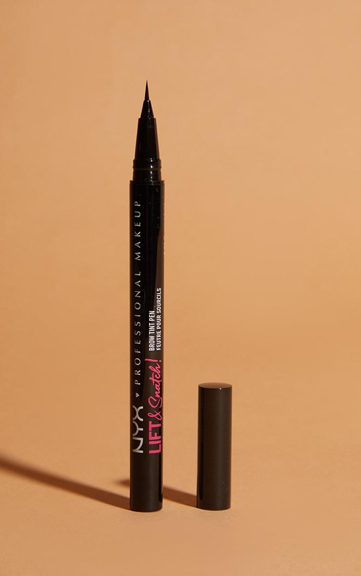 NYX PMU Lift And Snatch Brow Tint Pen Ash Brown 1