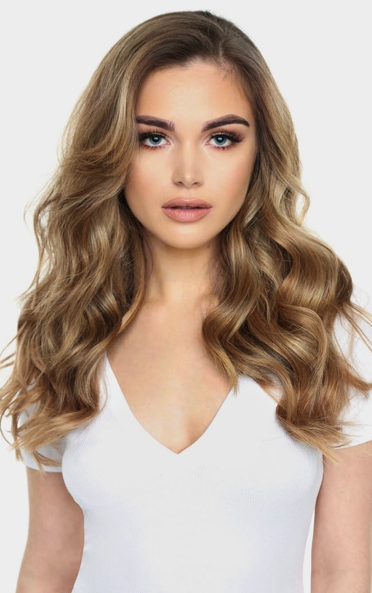 Beauty Works Double Hair Set Weft 18 Inch Mocha Melt 50 Grams 5