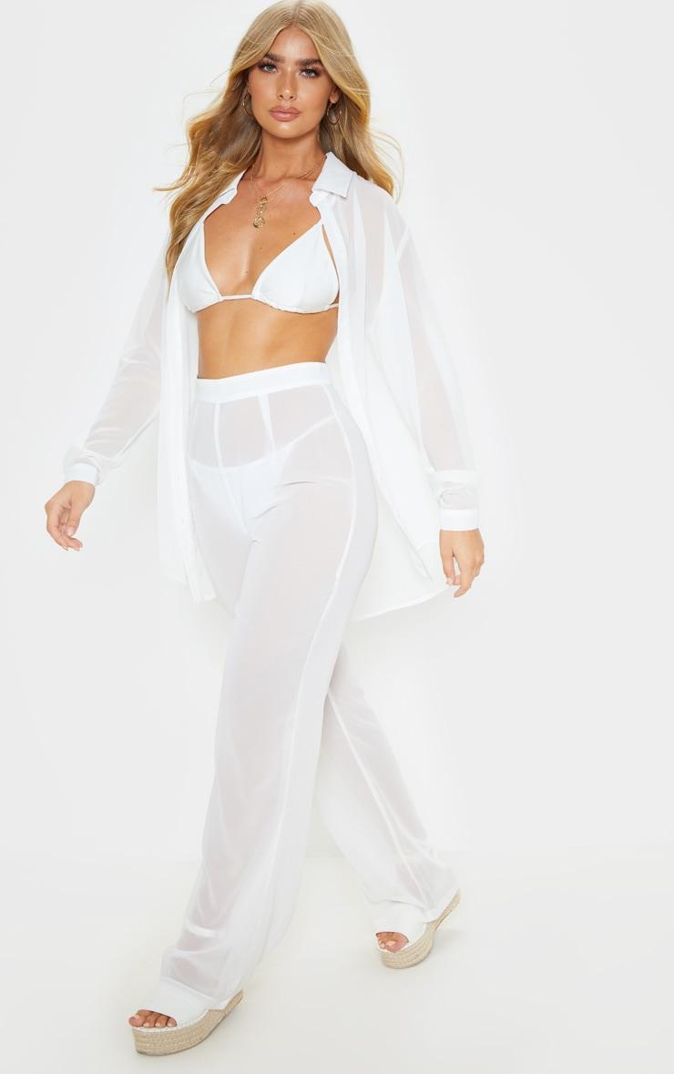 White Beach Trouser 1