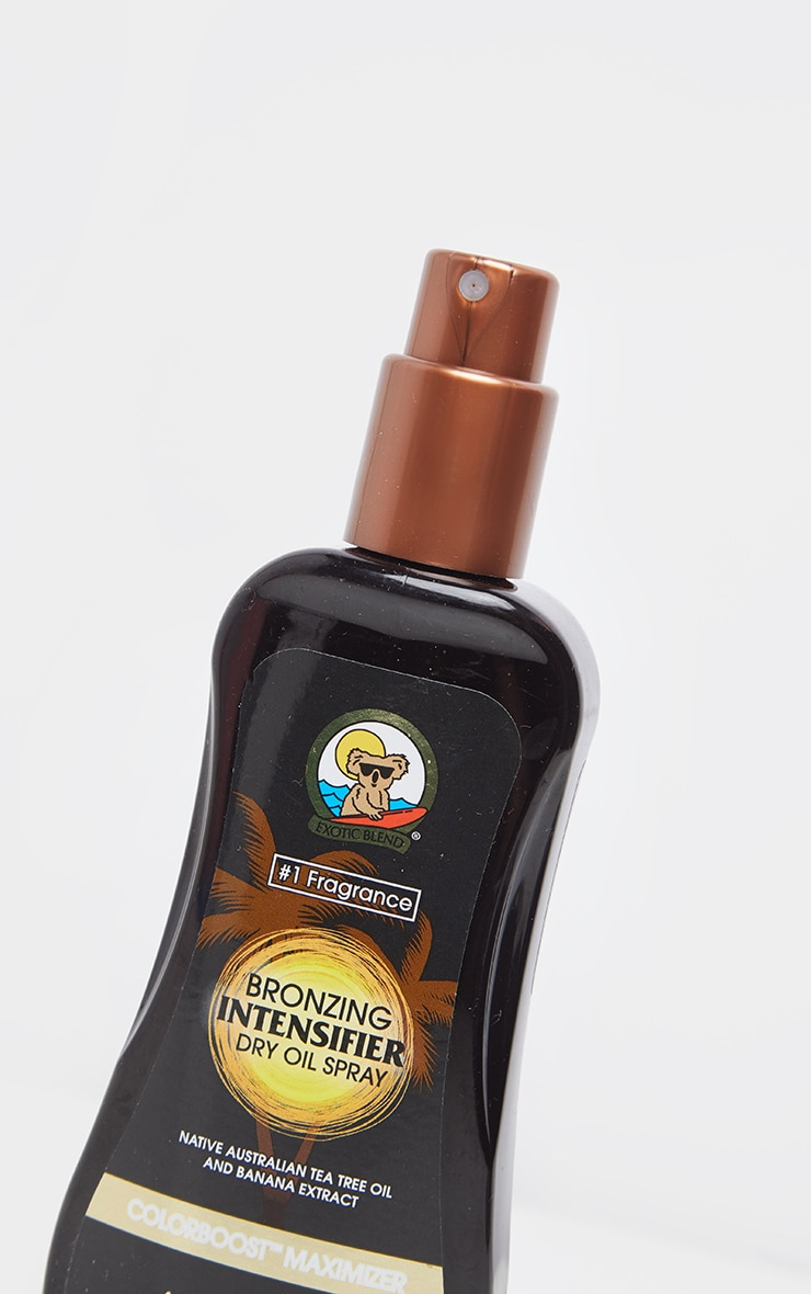 Australian Gold Tan Intensifier Dry Oil Spray with Bronzer 3
