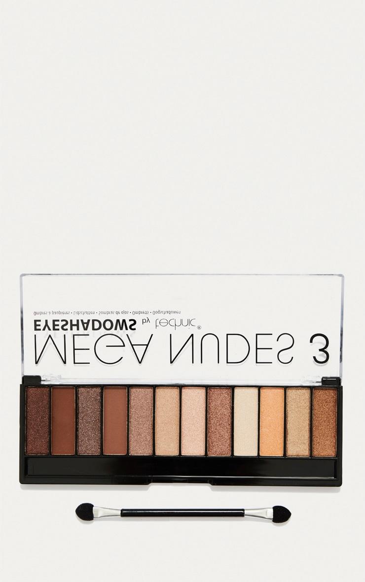 Technic Mega Nudes 3 Eyeshadow Palette 1