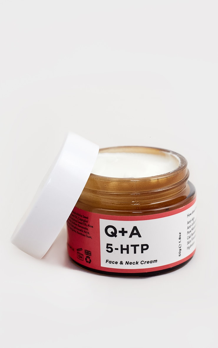Q+A 5-HTP Face & Neck Cream 50g 4