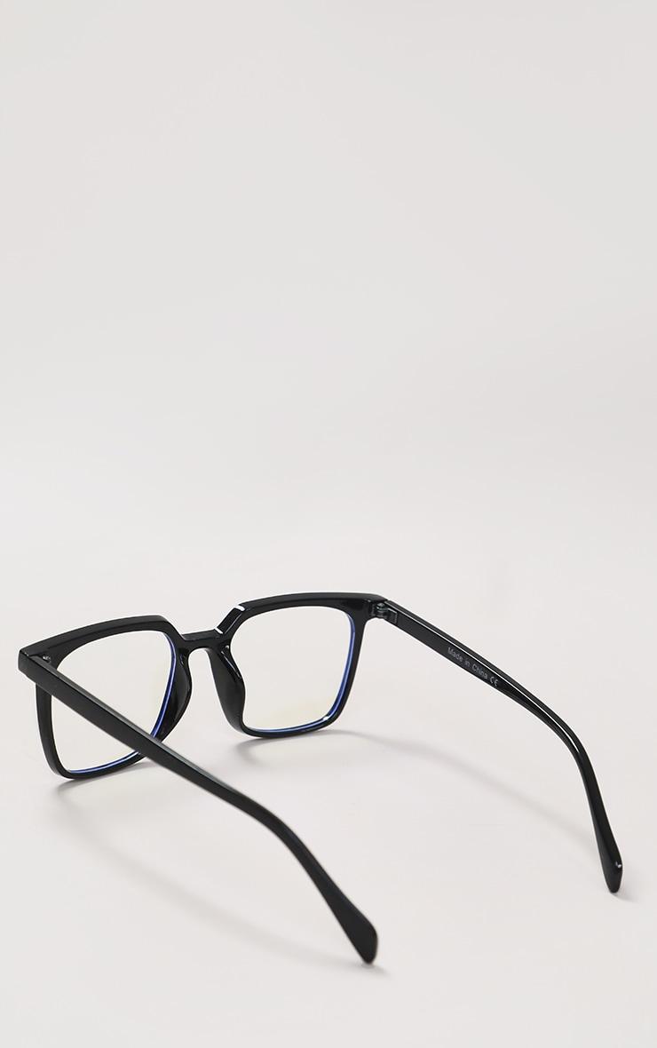 Black Classic Frame Blue Light Readers 3