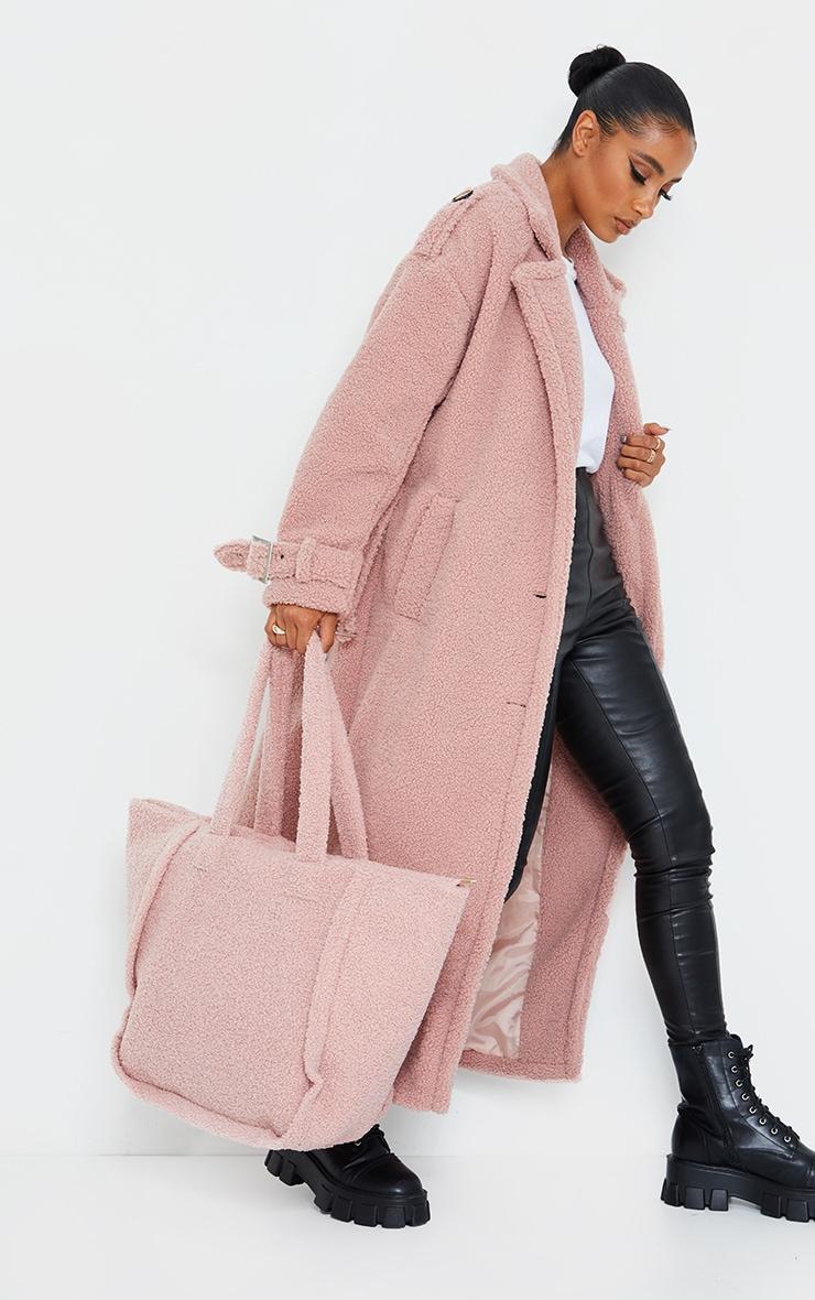 Rose Borg Oversized Belted Coat 1