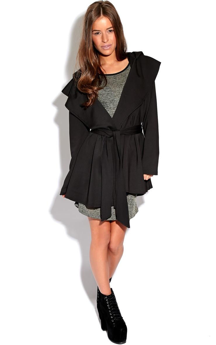 Saskia Black Tailored Coat 3