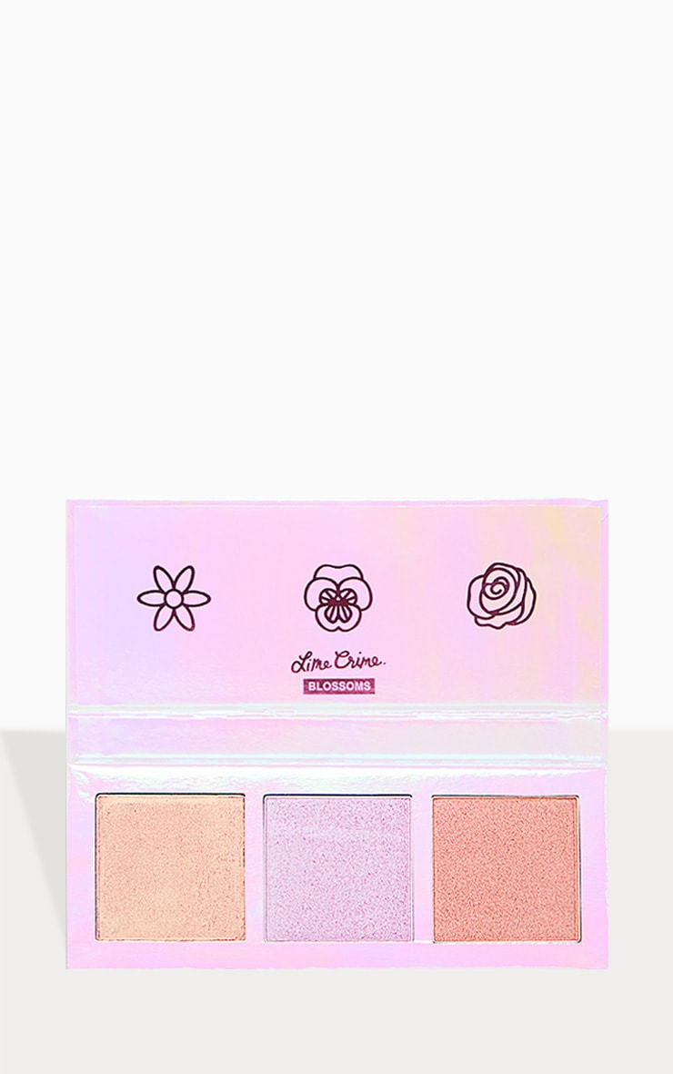 Lime Crime Hi-Lite Palette Blossoms 1