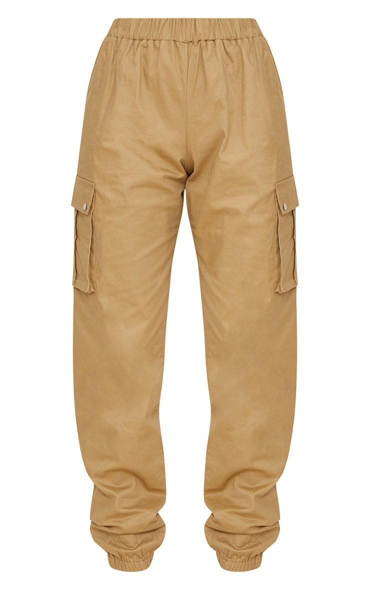 Petite Stone Pocket Detail Cargo Trousers 3