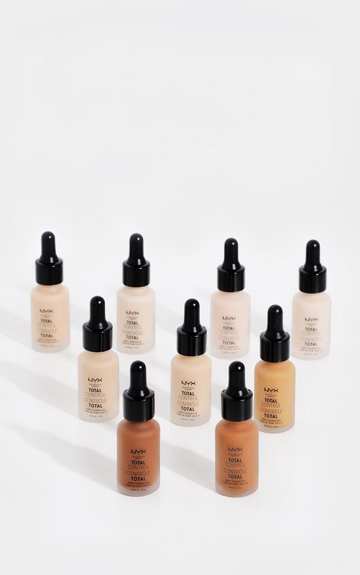 NYX Professional Makeup Total Control Drop Foundation Alabaster 3