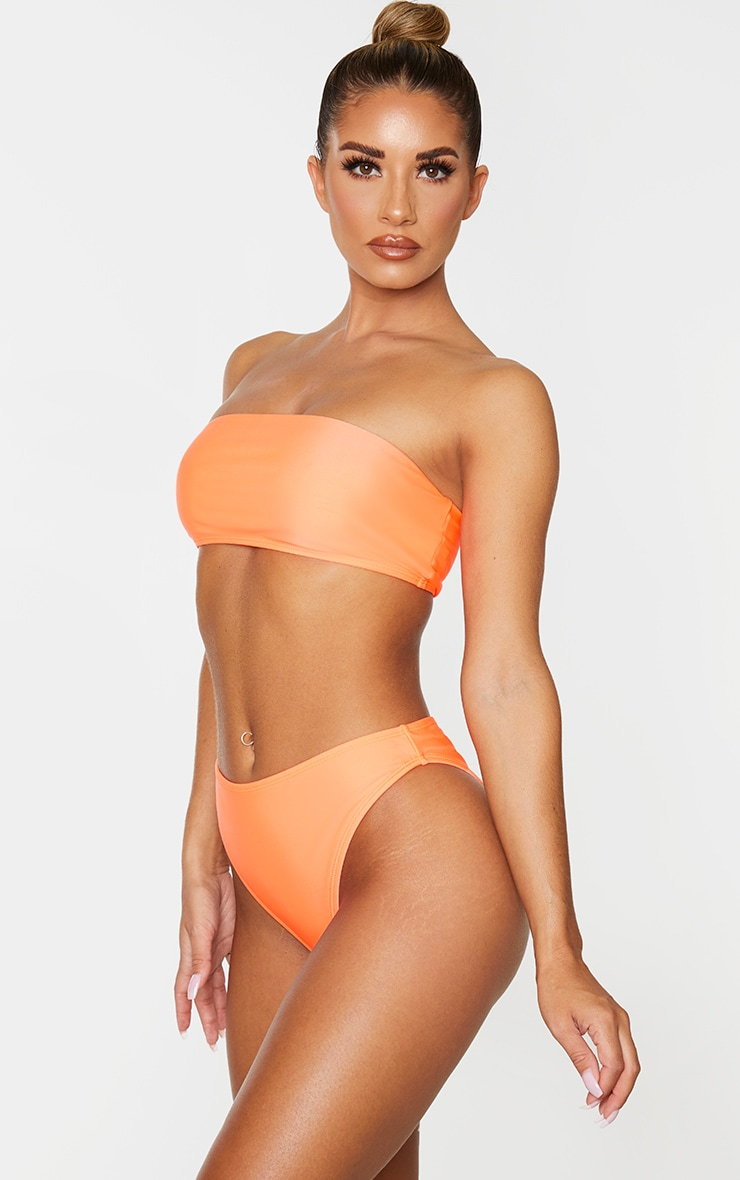 Coral Mix & Match Cheeky Bum Bikini Bottom 2