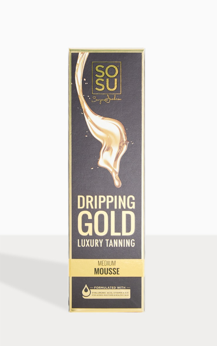 SOSU Dripping Gold Luxury Medium Mousse 2