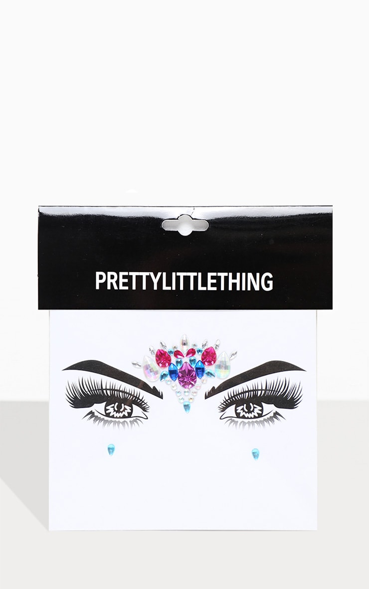 PRETTYLITTLETHING Twilight Face Jewel 2