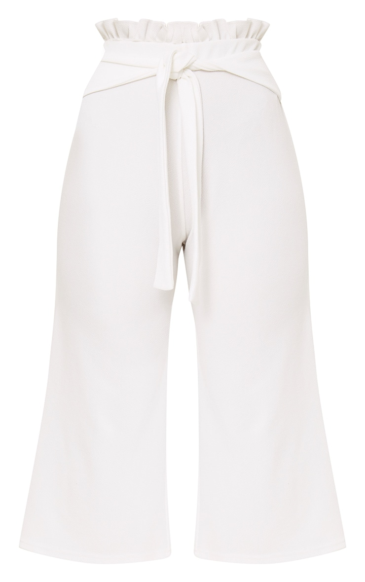 White Paperbag Culottes 3