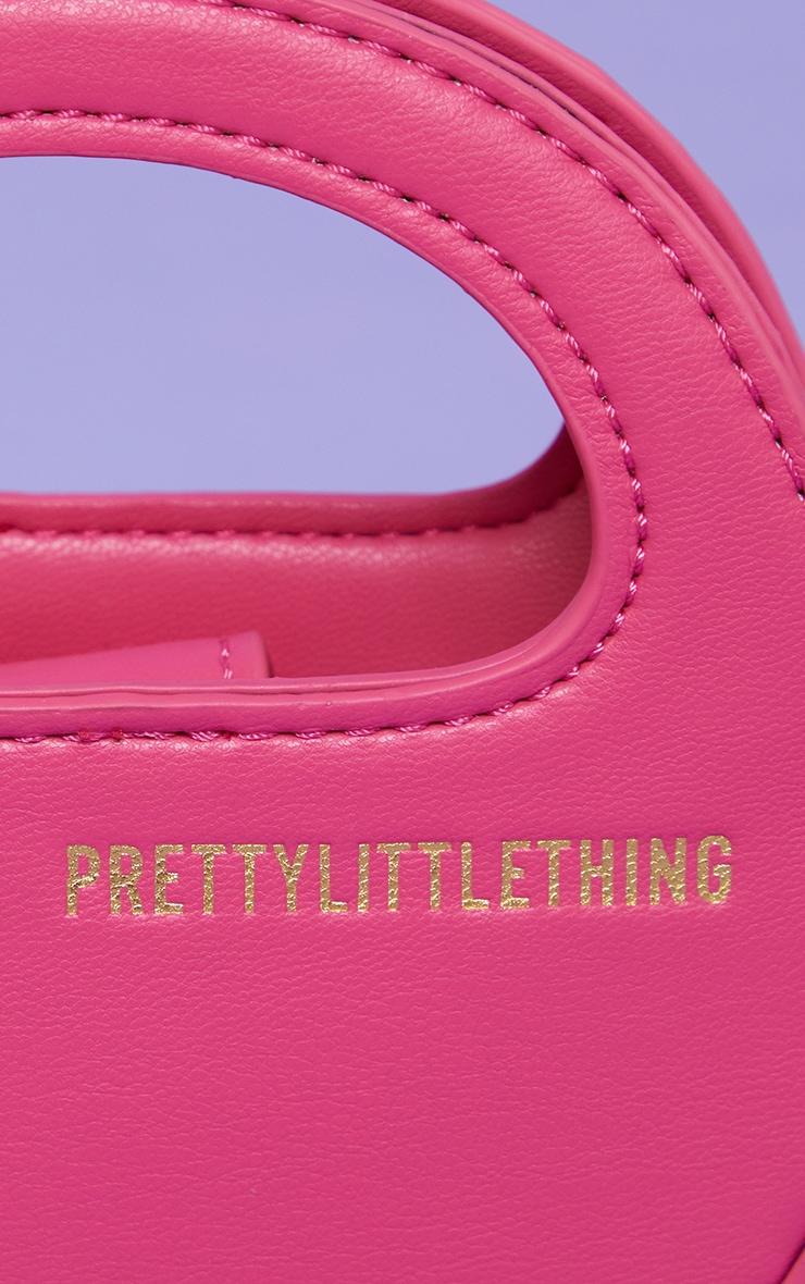 PRETTYLITTLETHING Pink Mini Round Grab Bag 4