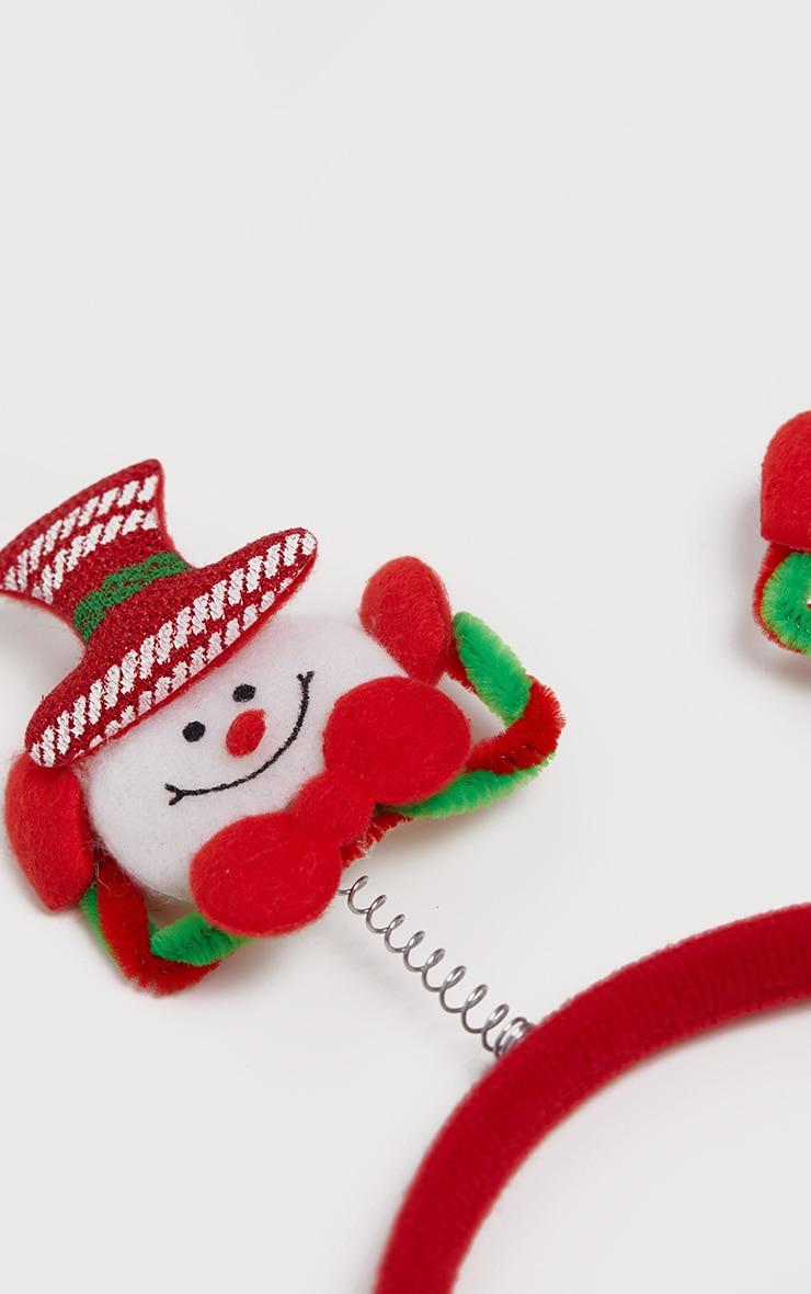 Snowman Headband 3