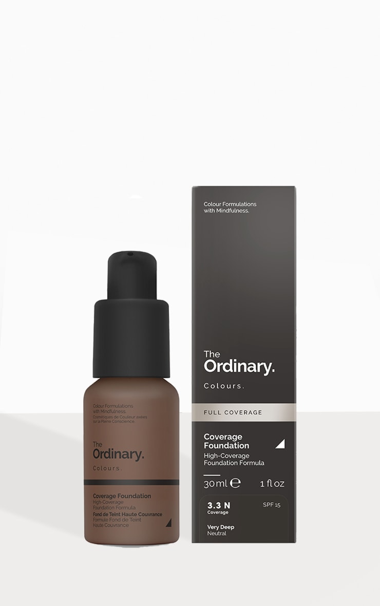 The Ordinary Coverage Foundation 3.3 N SPF 1