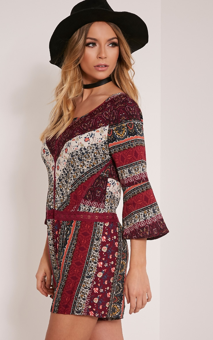 Abby Berry Printed Playsuit 4