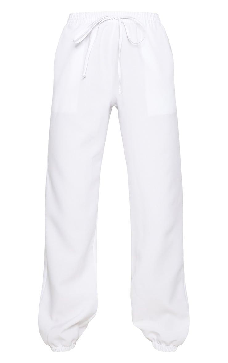 Petite White Cargo Trousers 3