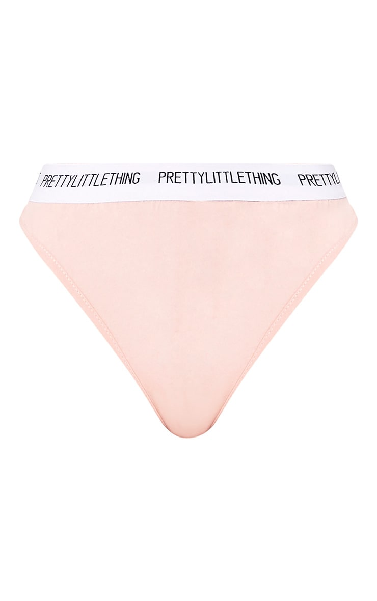 PRETTYLITTLETHING Nude Thong 3