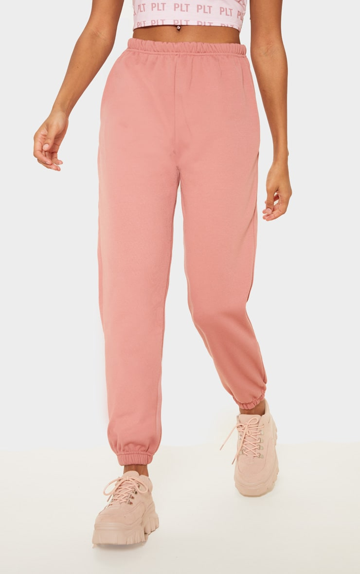 Dusty Pink Casual Jogger 2
